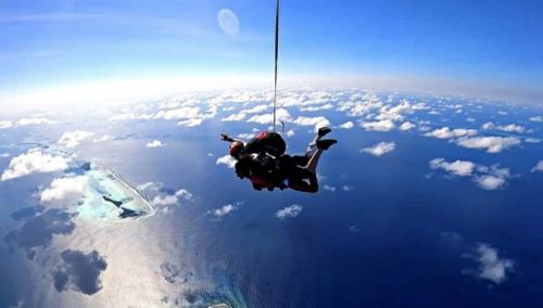 Adrenaline Delight with Skydiving at Niyama Private Islands Maldives