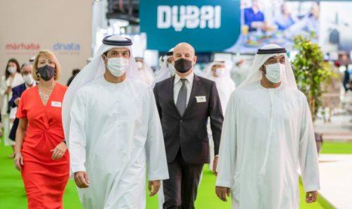 HH Sheikh Ahmed bin Saeed Opens Arabian Travel Market 2021