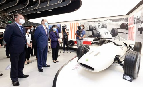 Macao Chief Executive Ho Iat Seng Inaugurates the Macao Grand Prix Museum